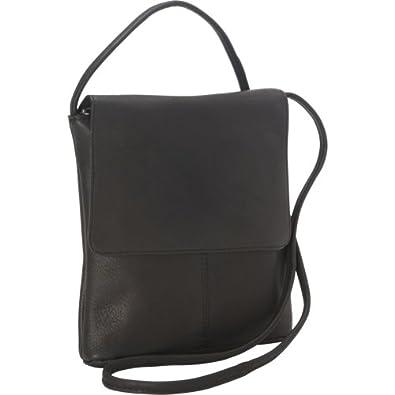 df4432236689 Small Handbags: Small Leather Flapover Purse