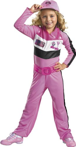 Barbie Race Car Driver Costume