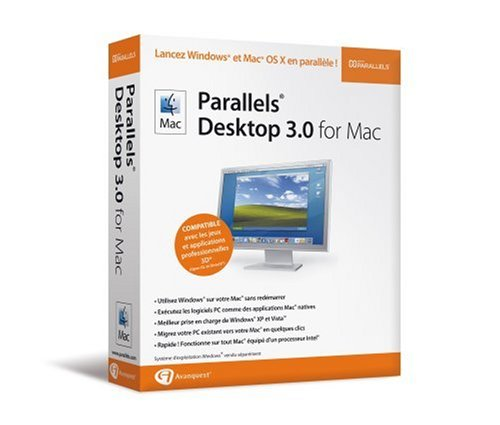 Parallels desktop for Mac 3.0 - vf