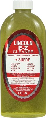 Lincoln Cleaner Nubuck Leather Fabric