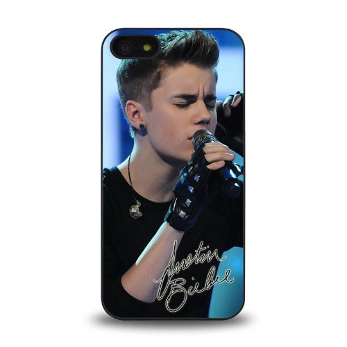 Iphone 5 5S Case Protective Skin Cover With Pop Star Justin Bieber Jb Cool Design #3