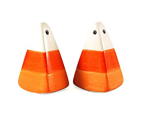 Halloween Candy Corn Salt and Pepper Shaker Set