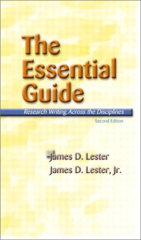 The Essential Guide: Research Writing Across the Disciplines (2nd Edition)