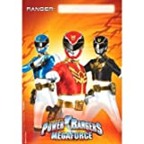 Power Rangers Megaforce Loot Bags 8ct