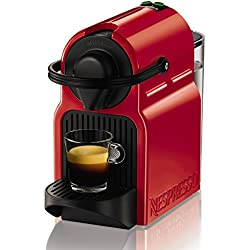 Nespresso Inissia XN1005 macchina per caffè espresso di Krups, colore Ruby Red