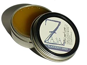 Blackberry Amber Solid Perfume by ZAJA Natural - 1 oz