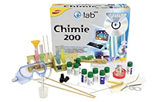 Joustra - 47002 - Jeu Éducatif et Scientifique - Jeu Scientifique - Chimie 200 - E=Lab