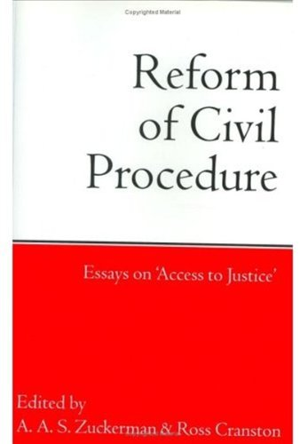 essay on access to justice Law essay competitions from learnmore jump to: navigation, search contents 1 feeling like a winner an understanding of the importance of pro bono and access to justice is a crucial part of any law student's education how can this be improved.