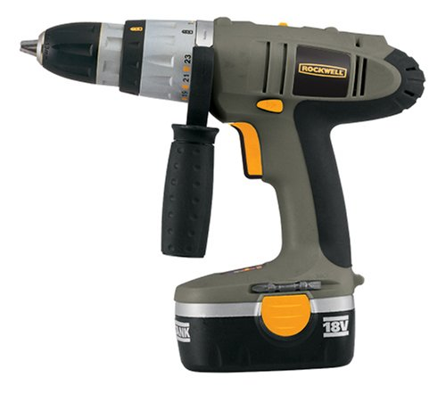 Rockwell ProGrade 18-Volt Cordless Hammer Drill