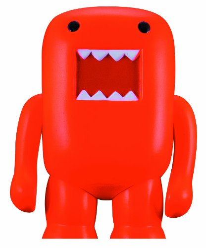 "4"" Domo Vinyl Figure: Black Light Orange - 1"