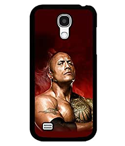 printtech The Rock WWE Back Case Cover for Samsung Galaxy S4 Mini::Samsung Galaxy S4 Mini i9190