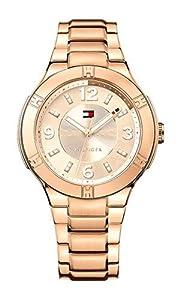 Tommy Hilfiger Women's 1781445 Analog Display Quartz Rose Gold Watch