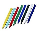 Stutzen mit Steg - 7 Farben und Größe Junior / Senior lieferbar - neutral *NEU* (Schwarz, Junior)