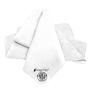 Frogg Toggs The Original Chilly Pad Cooling Towel, Ice White
