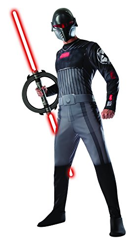 Rubie's Costume Men's Star Wars Rebels Adult Inquisitor Costume