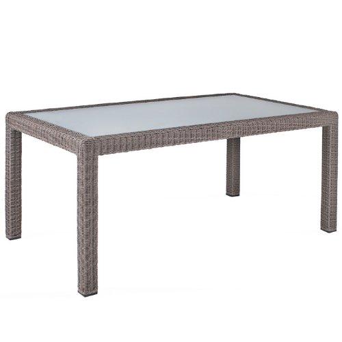MBM 68.00.0511 Tisch Bellini 90 x 160 cm, koala, Glasplatte günstig online kaufen