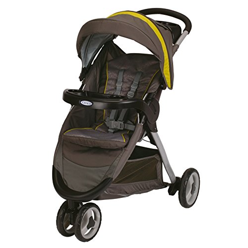 2014 Graco Fastaction Fold Sport Click Connect Stroller, Moonstruck - 1