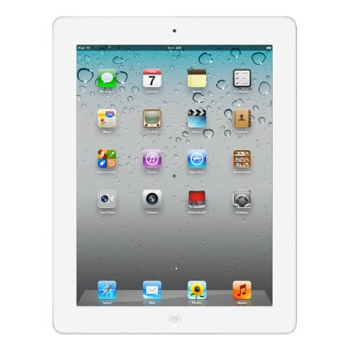 Apple iPad 2 with Wi-Fi 64GB - iOS 5 - White MC991LL/A