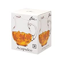 Crisa Acapulco 89-1/2-Ounce Glass Pitcher in Gift Box