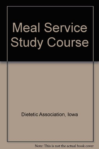 Meal Service Study Course