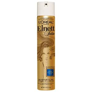 L'Oreal Paris Elnett Satin Hairspray, Extra Strong Hold, 325 ml