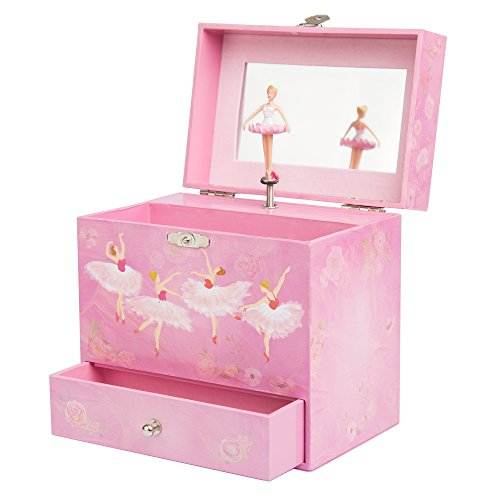 Ballerina Music Box for Girls - Dancing Musical Jewelry Box (Girl Ford Accessories compare prices)