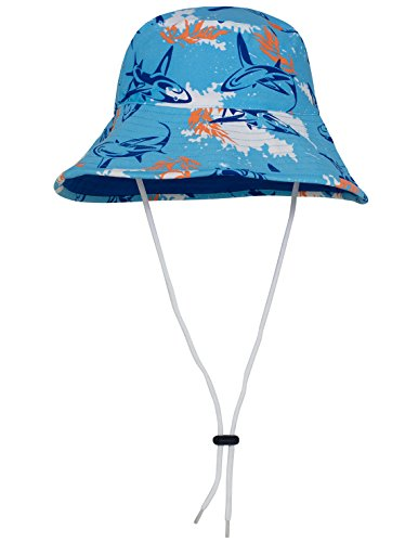 Tuga Boys UPF 50+ Reversible Bucket Hats (UV Sun Protective)