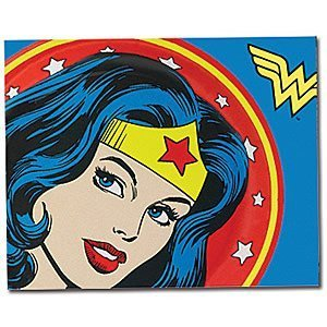Throw Blanket ~ Dc Comic Book ~ 50 in X 60 In. - Wonder Woman Sheets