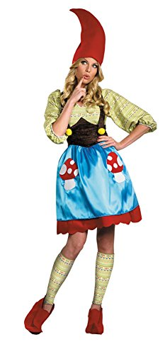 Ms. Gnome Adult Costume 10-12 Halloween Costume