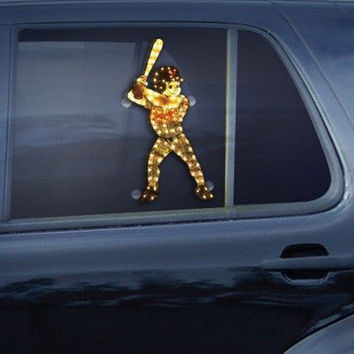MLB Los Angeles Dodgers Light Up Car Window Player at Amazon.com