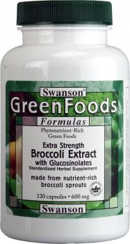 Swanson GreenFoods Extra Strength Broccoli with Glucosinolates (120 Capsules) by Swanson Health Products