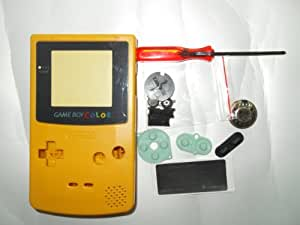 Full Parts Replacement Housing Shell Pack For Nintendo Game Boy Color-Dandelion(bulk packaging)
