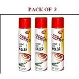ZEROIN ZER434 - 3x Clothes Moth Killer 300ml Moths Cloth Spray Aerosol
