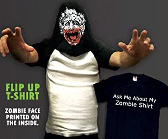 Ask Me About My Zombie Shirt T-Shirt #17 / #1337 (Mens Small)