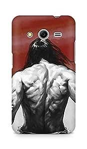 Amez designer printed 3d premium high quality back case cover for Samsung Galaxy Core 2 (Hi No Maru)