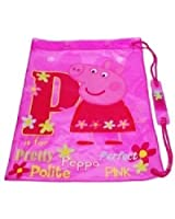Peppa Pig - Pink Swim Bag / Swimming Kit Bag