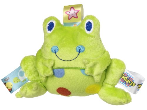 Taggies Rattle, Spotted Frog front-970111