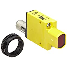 Banner SM31EQD Mini Beam DC Photoelectric Sensor, Opposed Emitter Mode, 4-Pin European QD Termination, 3m Sensing Range