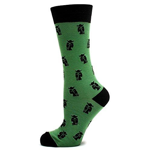 Star Wars Green Yoda Socks
