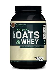 """OPTIMUM NUTRITION 100% - NATURAL OATS & WHEY """"CHOCOLATE 1360g"""""""