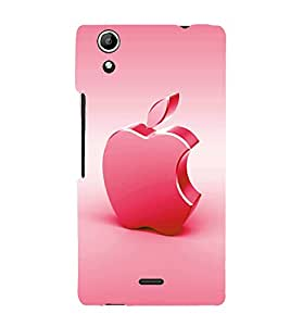 printtech Apple Back Case Cover for Micromax Canvas Selfie Lens Q345