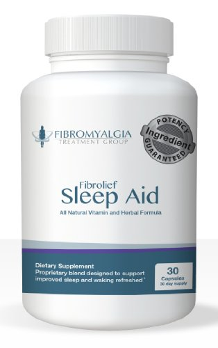 Fibrolief Sleep Aid - #1 Choice By Those with Fibromyalgia and Chronic Fatigue Syndrome
