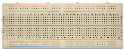 "Solderless Breadboard 840 Point ABS 6.75""x2.5"" (171x63 mm)"
