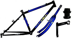"VELA Bankrupt 26"" Whl 18"" Bike Frame And Forks/Headset/Stem"