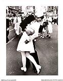 (11x14) Kissing On VJ Day Sailor & Nurse Art Poster Print