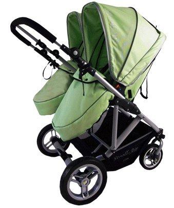 Stroll Air My Duo Stroller Green Giovana Limamol