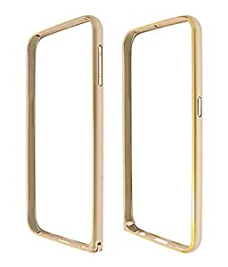 YGS Premium Aluminium Bumper Case For Samsung Galaxy S4 i9500-Gold