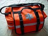 "Primacare KB-RO74 Trauma Bag 17"" Length x 9"" Width x 7"" Height, Orange"