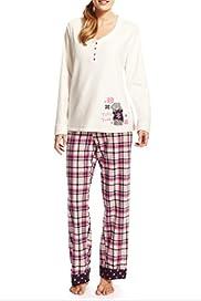Tatty Teddy Fleece Pyjamas [T37-1432-S]