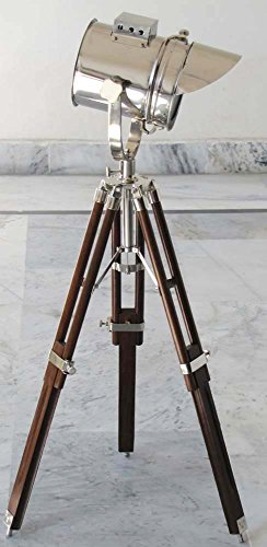 Nautical-Designer-Collectible-Searchlight-Spot-Light-Studio-Table-Lamp-With-Tripod-Stand